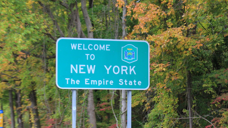 (Re)-entering New York State