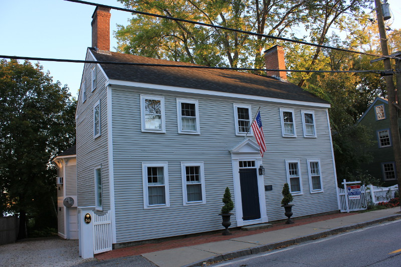 House dated 1720 in Portsmouth, NH