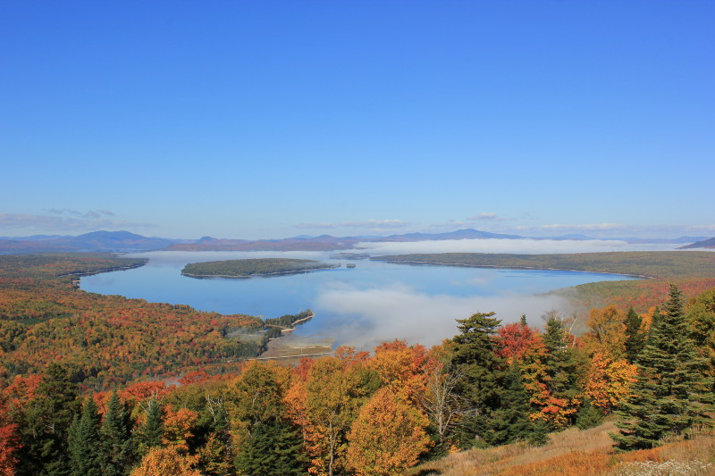 Rangeley Overlook, Maine