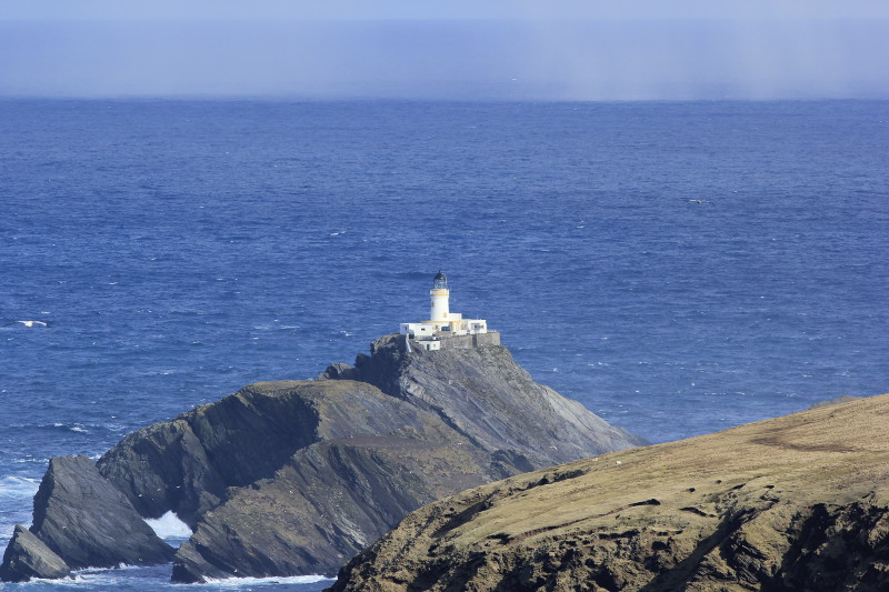 Muckle Flugga lighthouse, from Unst