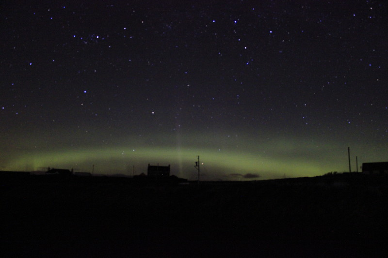 Northern Lights, Yell, Shetland