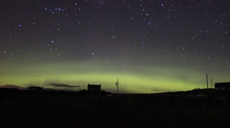 Northern Lights, Shetland