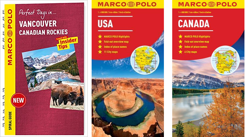 Marco Polo maps and guides