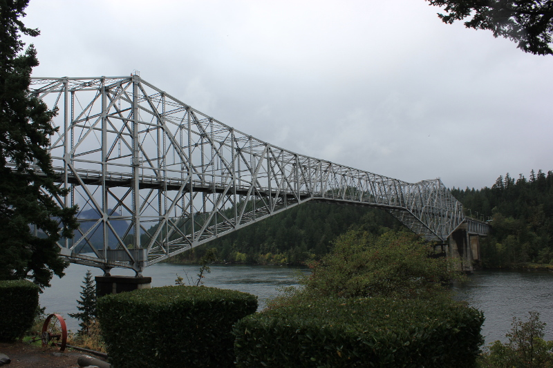 The Bridge of the Gods, Columbia River, OR
