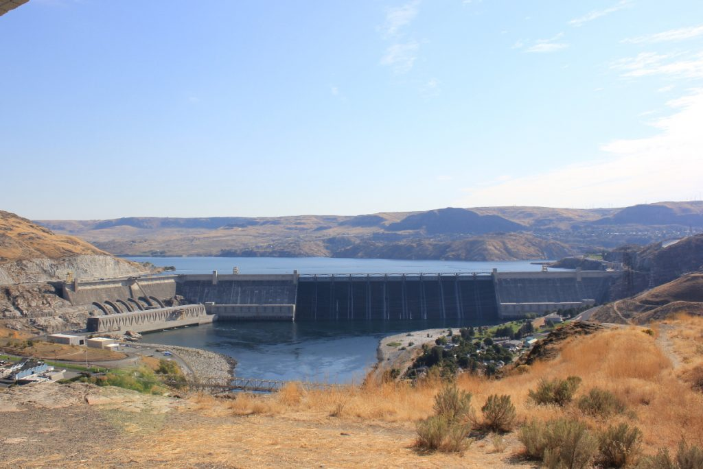 Grand Coulee Dam, WA, USA