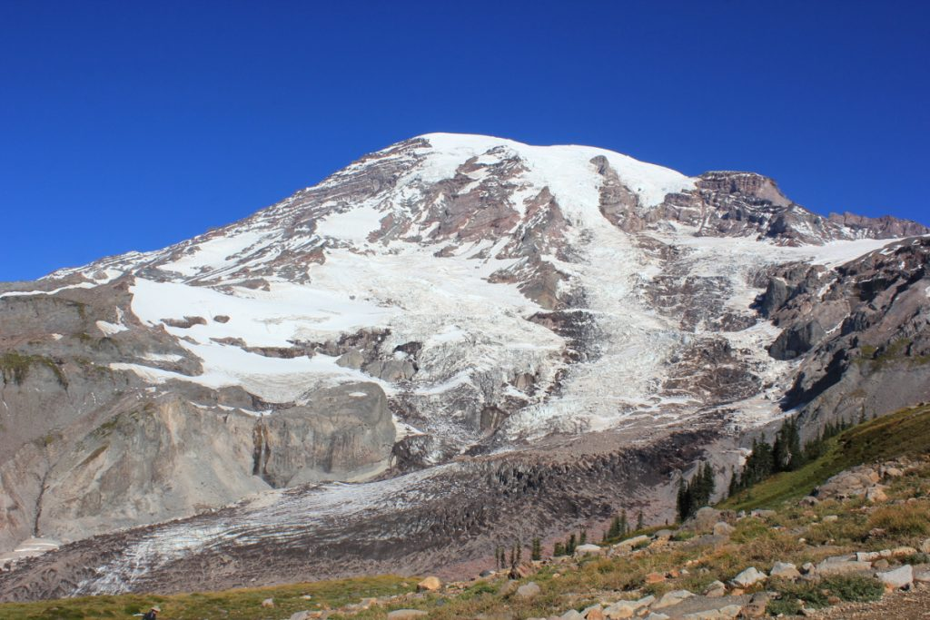 Nisqually Glacier, Mount Rainier, WA, USA