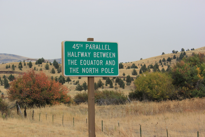 45th Parallel, OR