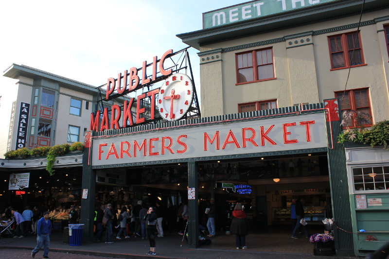 Pike Place Market, Seattle, WA
