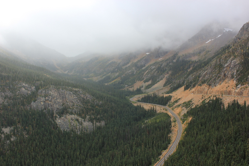 Washington Pass Overlook, WA, USA