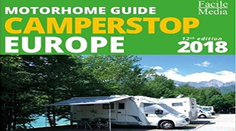 Camperstop Europe 2018 cover