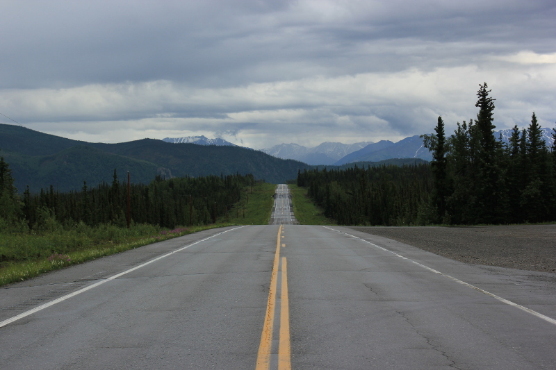 Alaska Highway from Fairbanks
