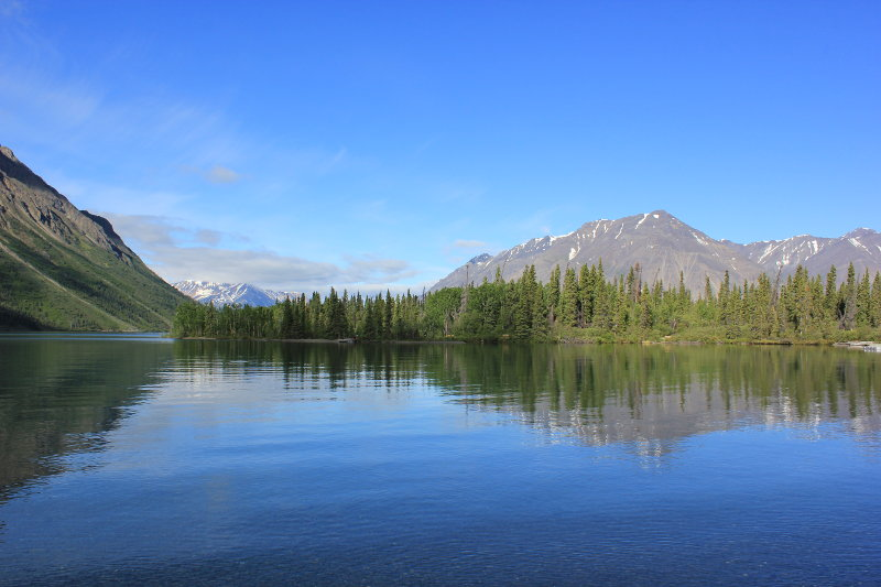 Kathleen Lake, Kluane National Park and Reserve