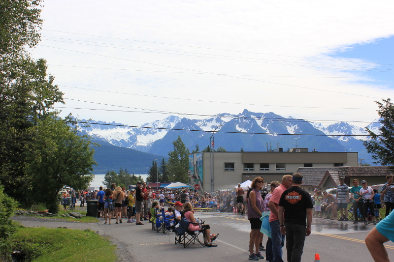 Mount Marathon Race, Seward, Alaska